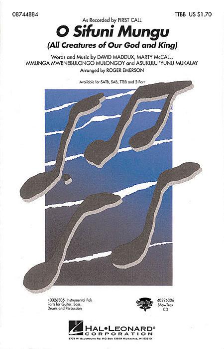 O Sifuni Mungu - ShowTrax CD