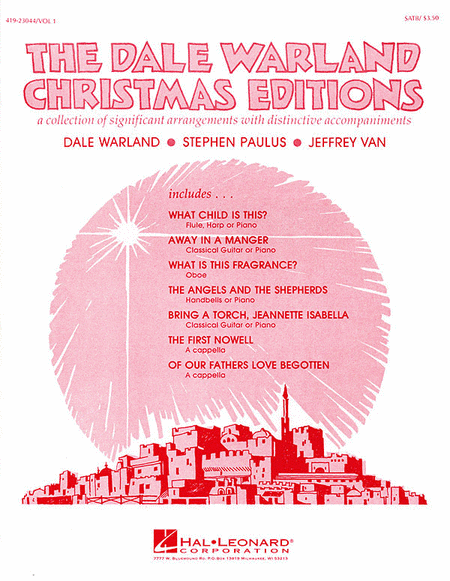 The Dale Warland Christmas Editions, Vol. I