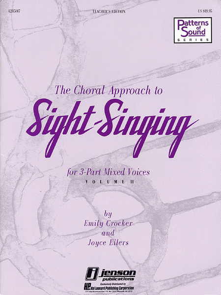 The Choral Approach to Sight-Singing (Vol. II)