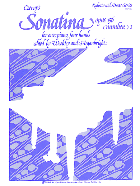 Czerny's Sonatina, Opus 156, No. 2