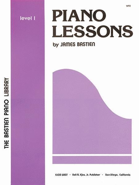 Piano Lessons, Level 1