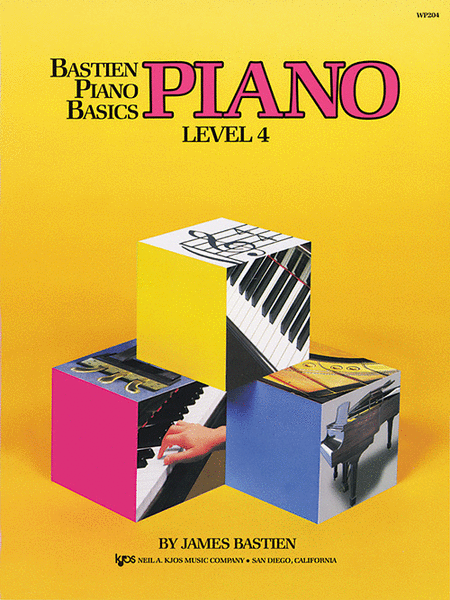 Bastien Piano Basics, Level 4, Piano