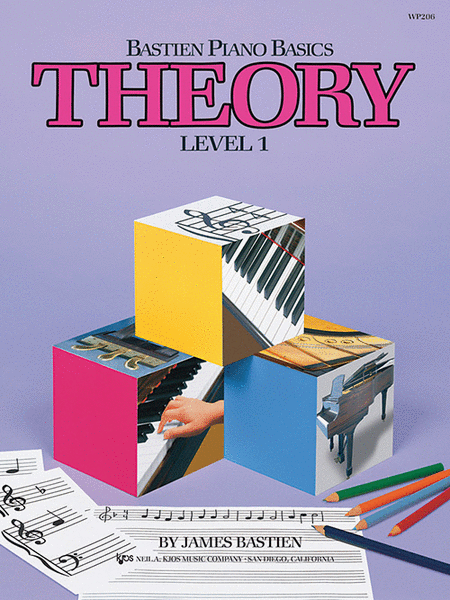 Bastien Piano Basics, Level 1, Theory