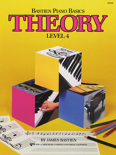 Bastien Piano Basics, Level 4, Theory