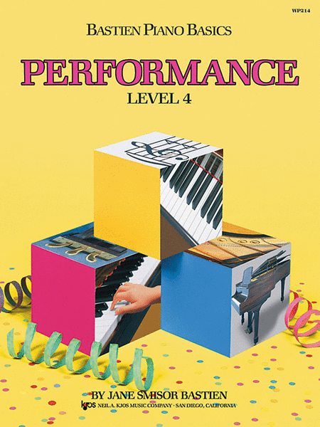 Bastien Piano Basics, Level 4, Performance