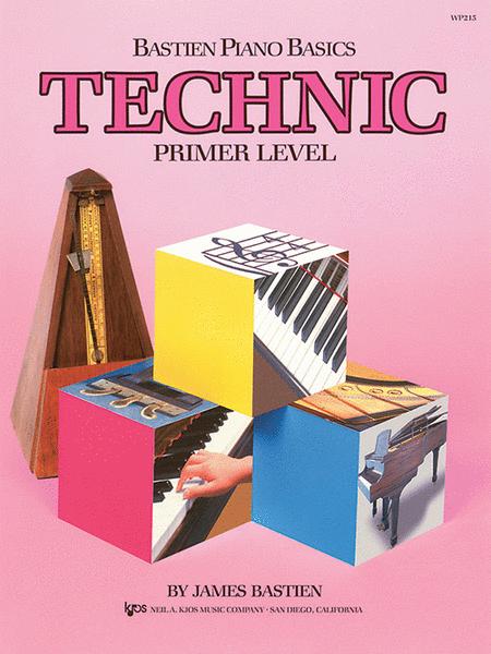 Bastien Piano Basics, Primer, Technic
