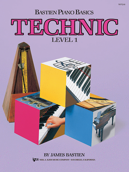 Bastien Piano Basics, Level 1, Technic