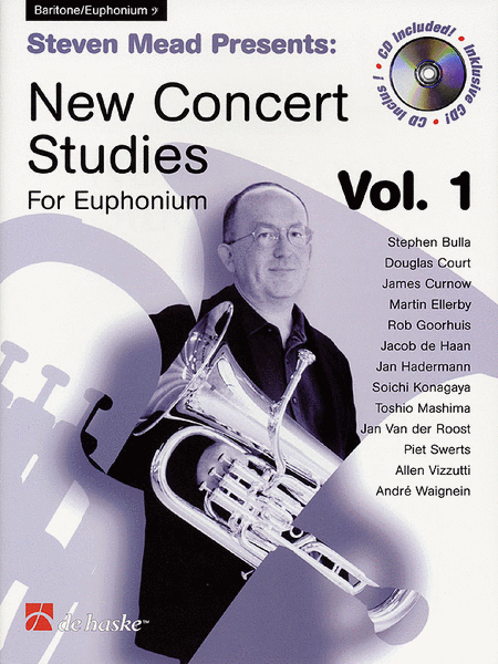 Steven Mead Presents: New Concert Studies for Euphonium - Bass Clef