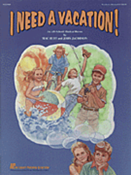 I Need a Vacation - ShowTrax CD (CD only)