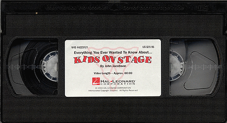 Kids on Stage (Staging & Choreography Resource)