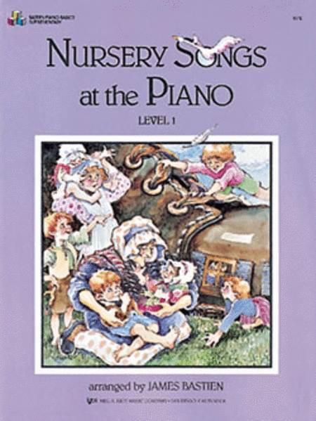 Nursery Songs At The Piano, Level 1