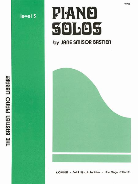 Piano Solos, Level 3