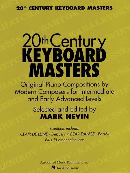 Twentieth Century Keyboard Masters