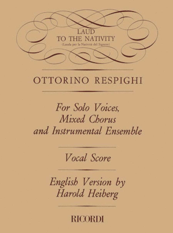 Lauda per la Nativita del Signore (Laud to the Nativity)