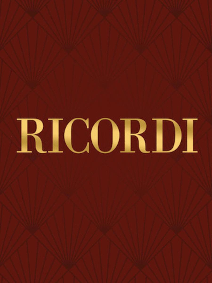 4 Pezzi Sacri (4 Sacred Pieces) Full size vocal score
