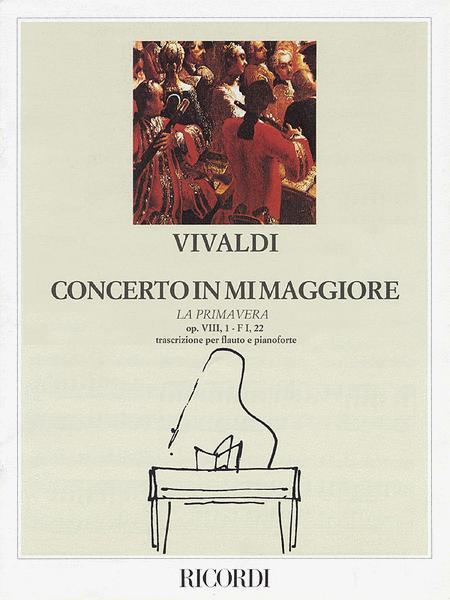 Concerto in E Major La Primavera (Spring) from The Four Seasons RV269, Op.8 No.1
