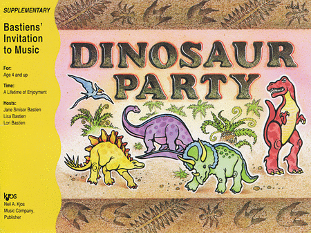Dinosaur Party-Book C