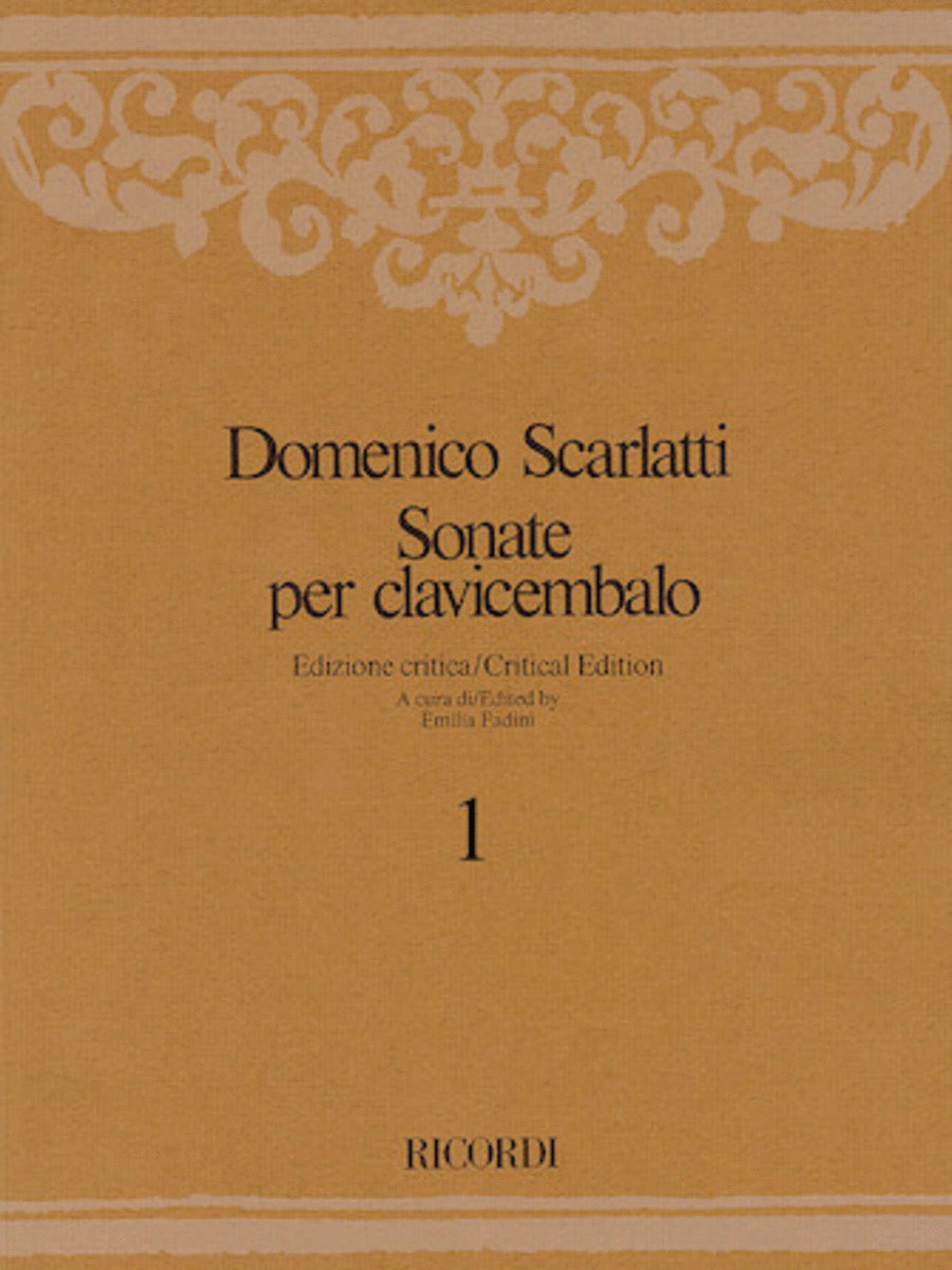 Sonate per Clavicembalo Volume 5 Critical Edition