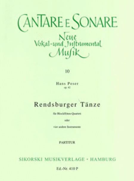 Rendsburger Tanze, Op. 42