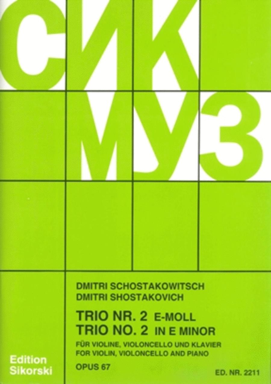 Trio No. 2, Op. 67