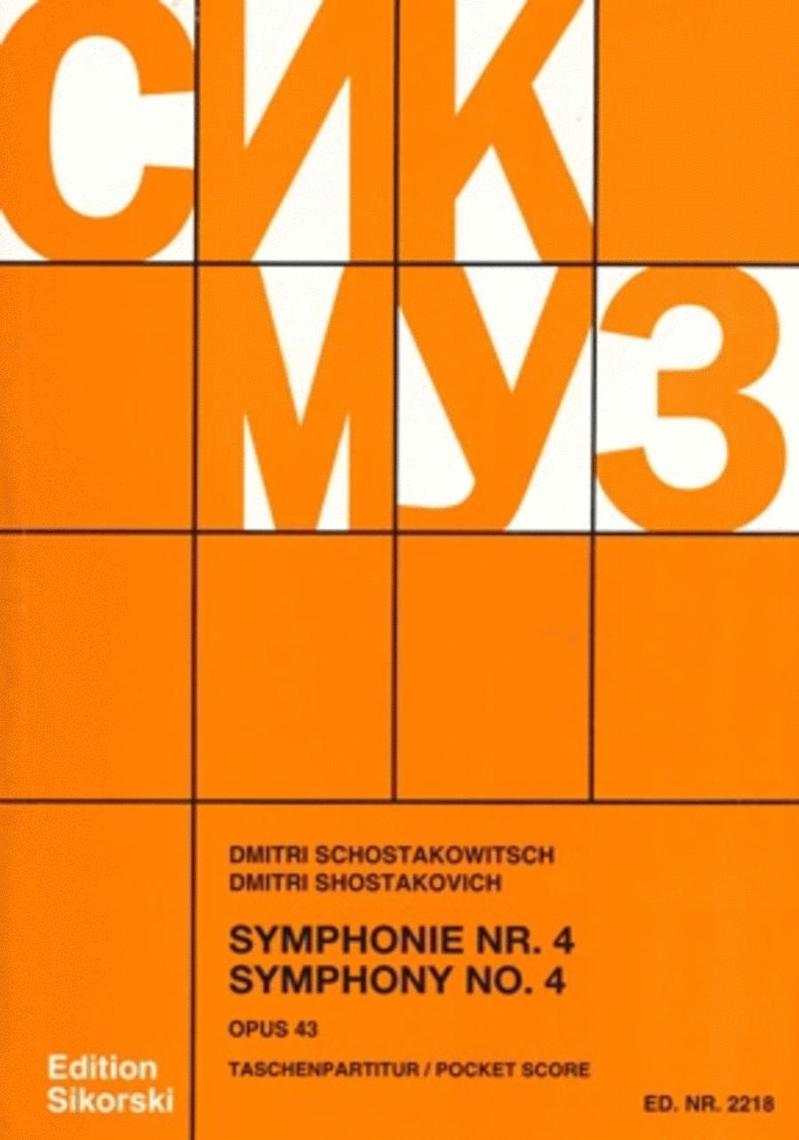Symphony No. 4, Op. 43