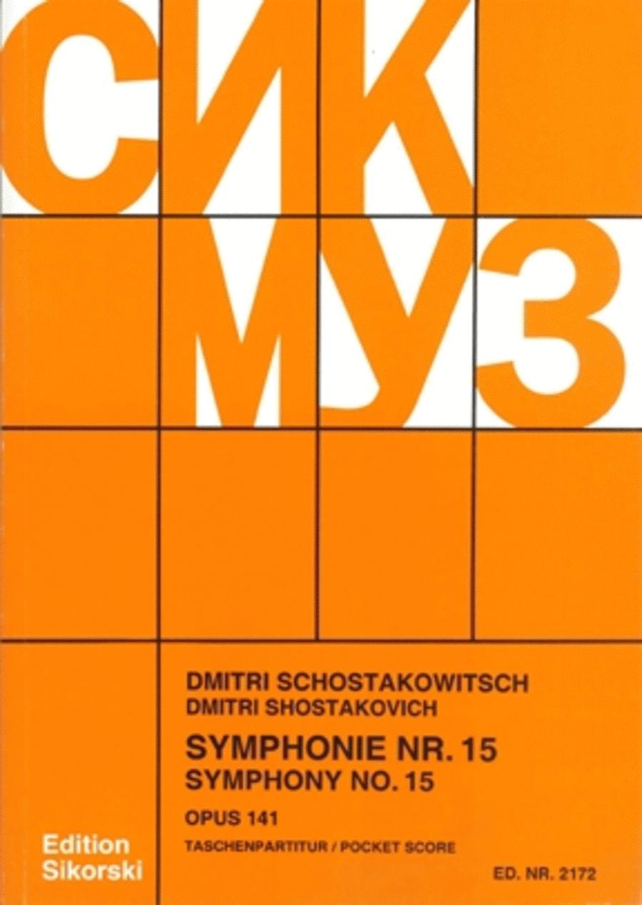 Symphony No. 15, Op. 141