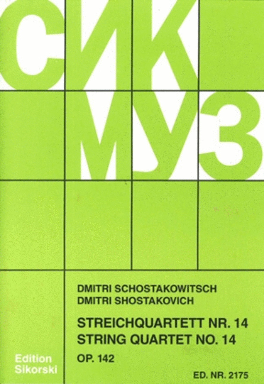 String Quartet No. 14, Op. 142