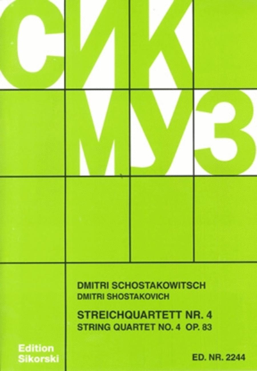 String Quartet No. 4, Op. 83