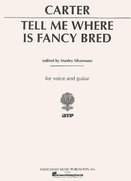 Tell Me Where is Fancy Bred