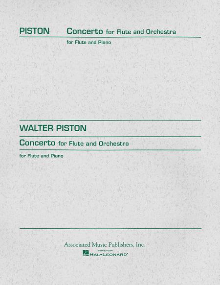Concerto For Flute - Flute/Piano