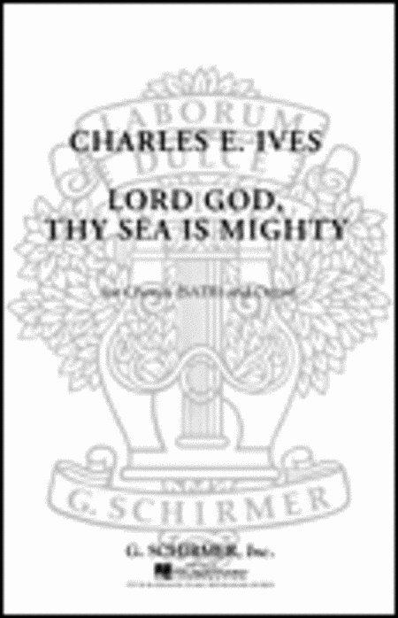 Lord God Thy Sea Is Mighty With Organ