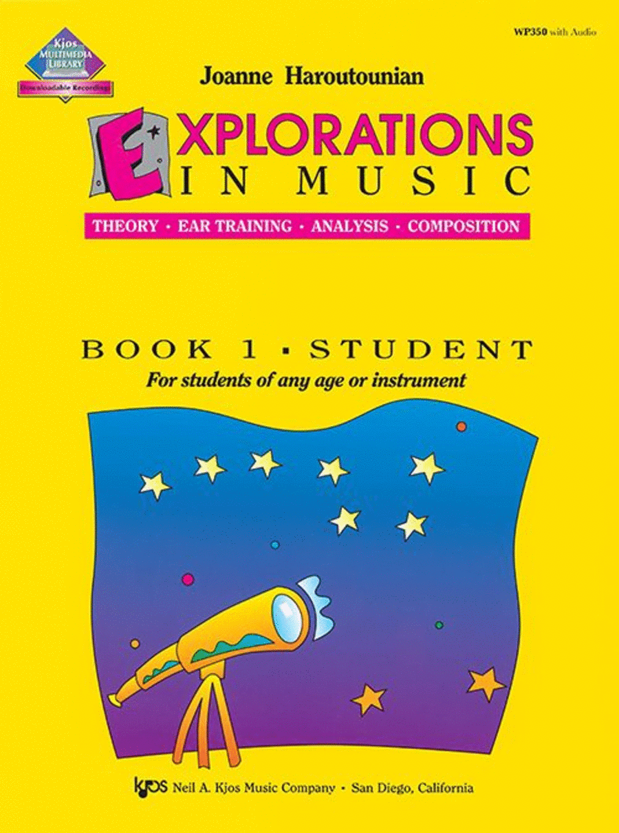 Explorations in Music, Book 1 (Book & CD)