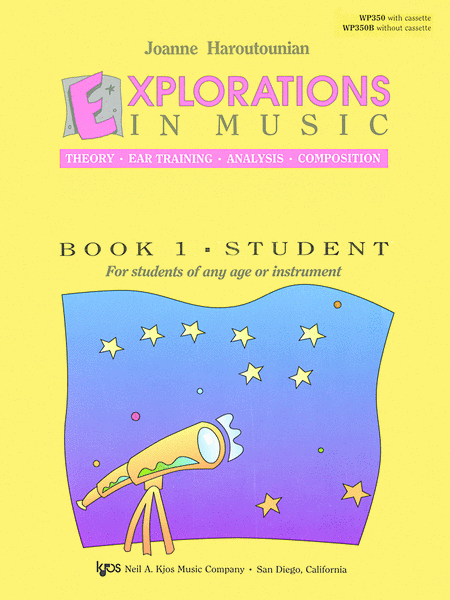 Explorations In Music, Book 1