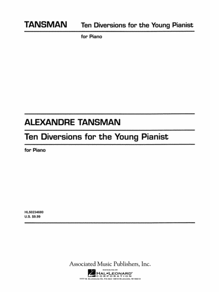 10 Diversions for the Young Pianist