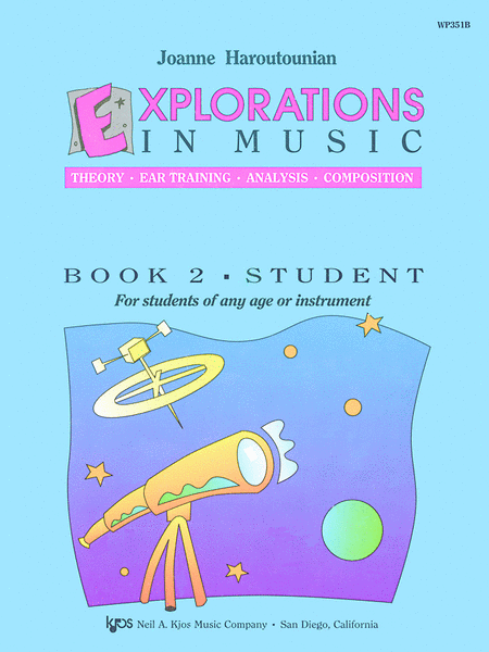 Explorations In Music, Book 2 (Book Only)