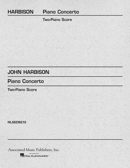 Piano Concerto (2-piano score)