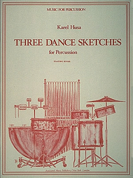 Three Dance Sketches for Percussion Quartet