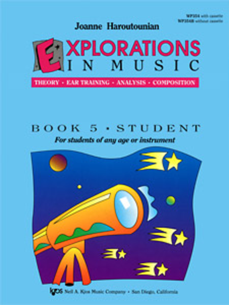 Explorations In Music, Book 5 (Book & CD)