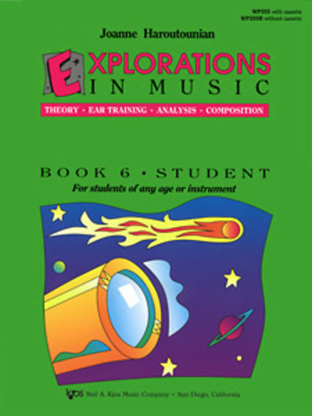 Explorations In Music, Book 6 (Book & Cassette)