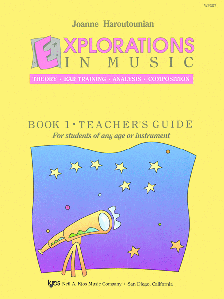 Explorations In Music Teacher's Book 1