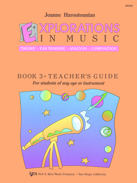 Explorations In Music Teachers Guide Book 3