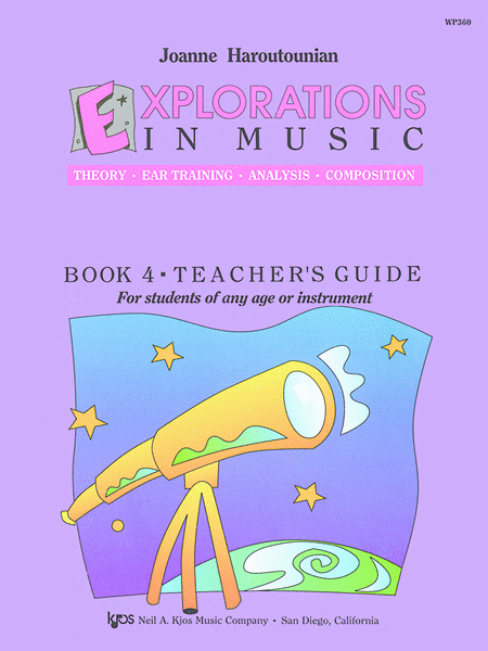 Explorations In Music Teacher's Guide Book 4