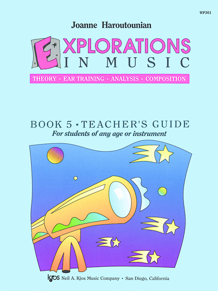 Explorations in Music Teacher's Book 5