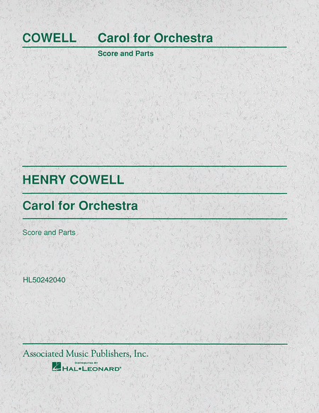 Carol for Orchestra