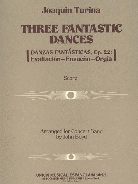 Three (3) Fantastic Dances, Op. 22