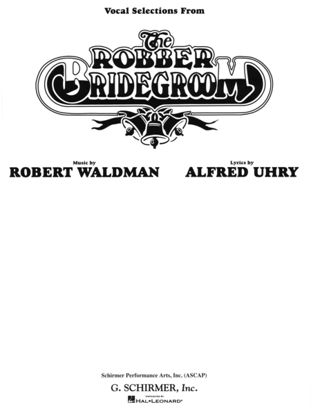 Robber Bridegroom - Vocal Selections