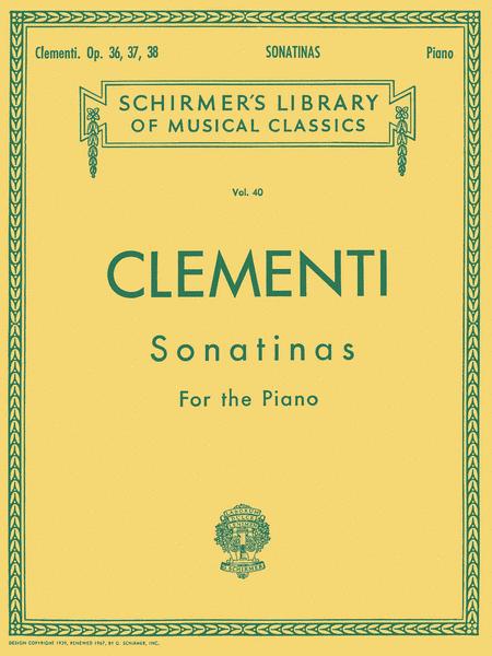 12 Sonatinas, Op. 36, 37, 38