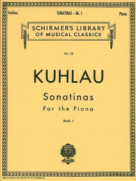 Sonatinas - Book 1