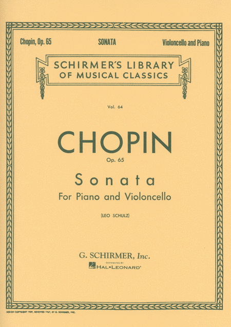 Sonata in G Minor, Op. 65