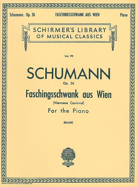 Faschingsschwank Aus Wien, Op. 26 (Carnival de Vienne)